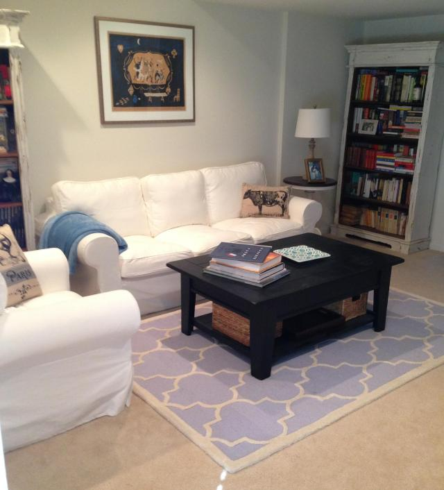 An entire room done on the cheap