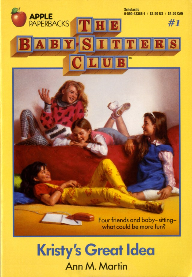 BSC1Baby sitters club books