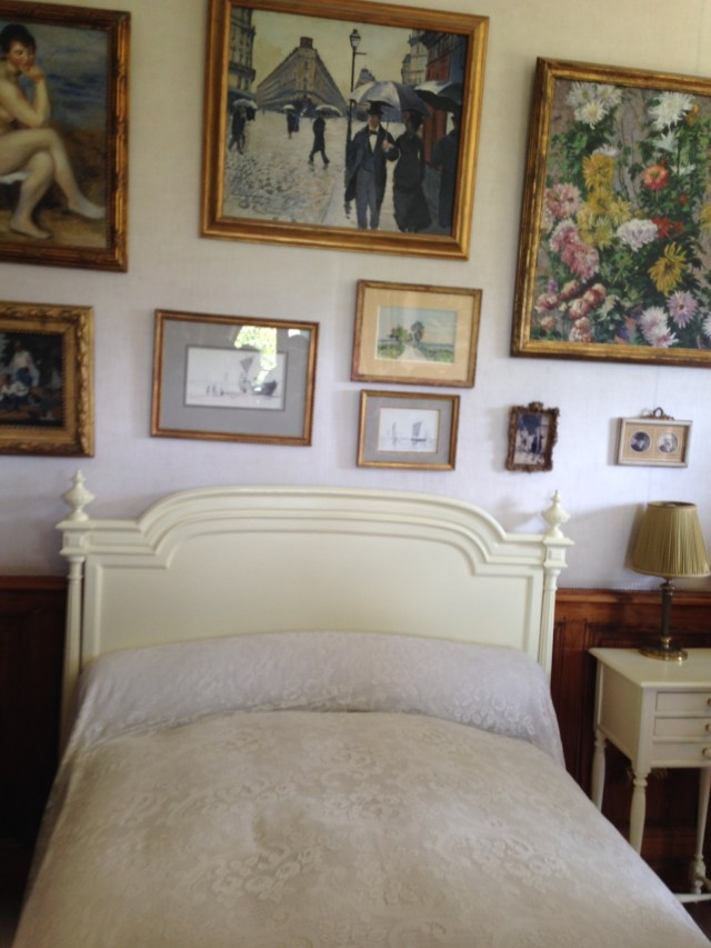 Giverny. Monets bedroom.