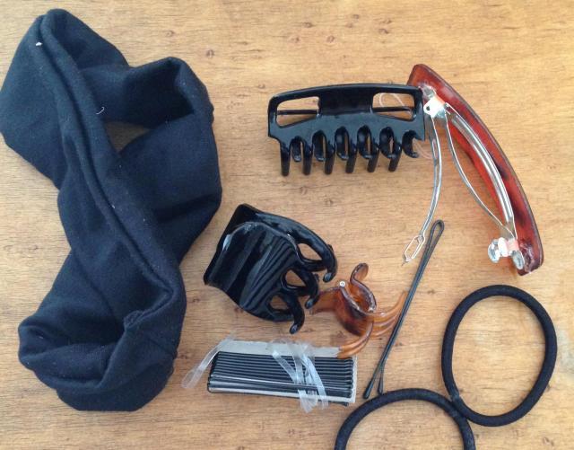 Longchamp bag hair essentials