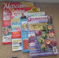 Shopping. Food Magazines to translate 1