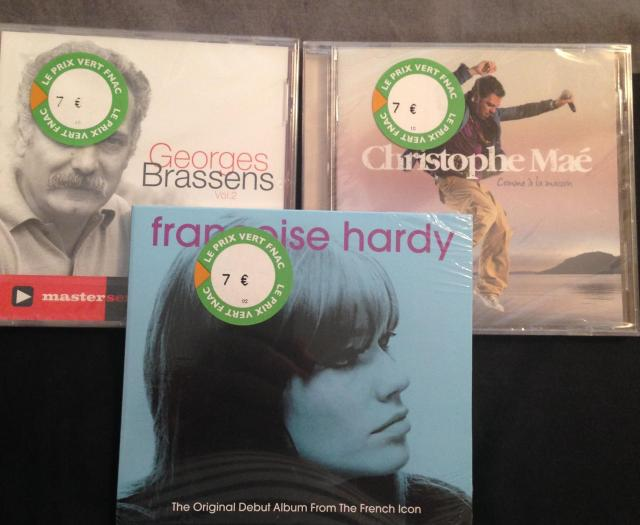 Shopping French CD.s