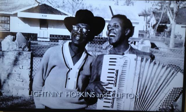 LIghtin' Hopkins and Clifton Chenier