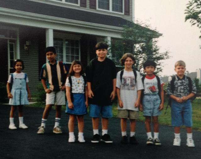 Navesink Dr. Crew. First Day of School