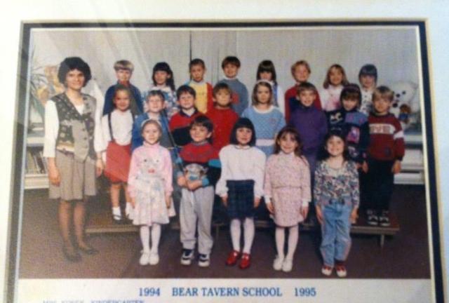 Oona kindergarten pic