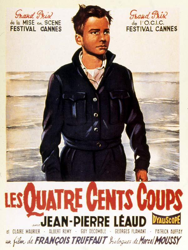 400 Blows. One of the best films of all time.