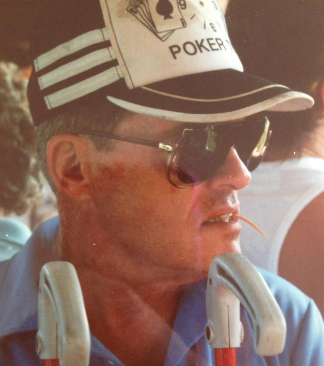 Classic Tommy Poker had and toothpick