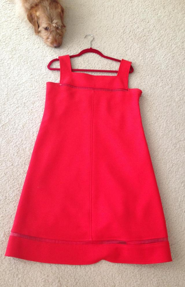 My Courreges shift dress
