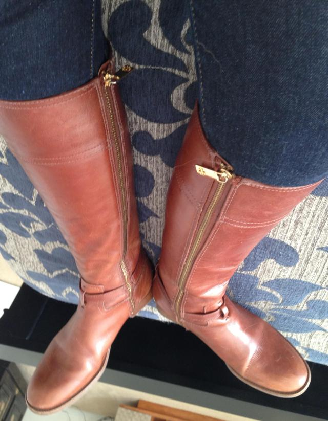 Tory Burch Boots. I need a moment of rest after the struggle