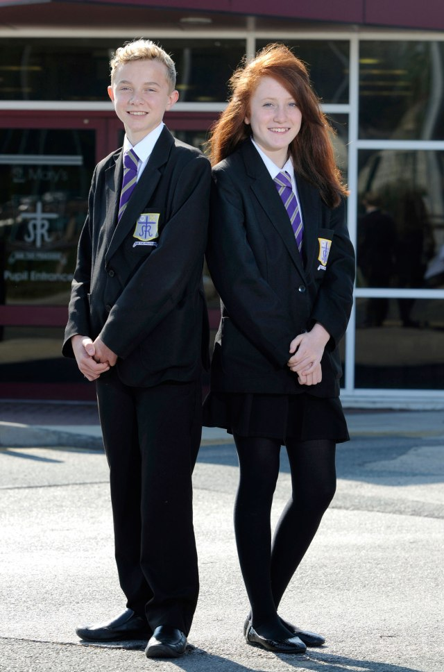 Uniform-model-pupils-July-2013
