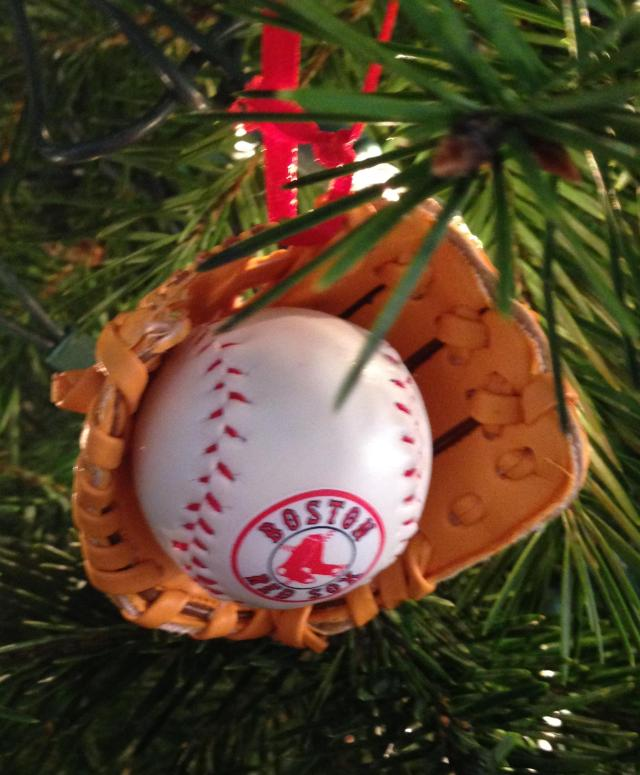 Ornaments. Red Sox