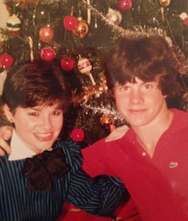 Pixie Cut Christmas Florida 1981