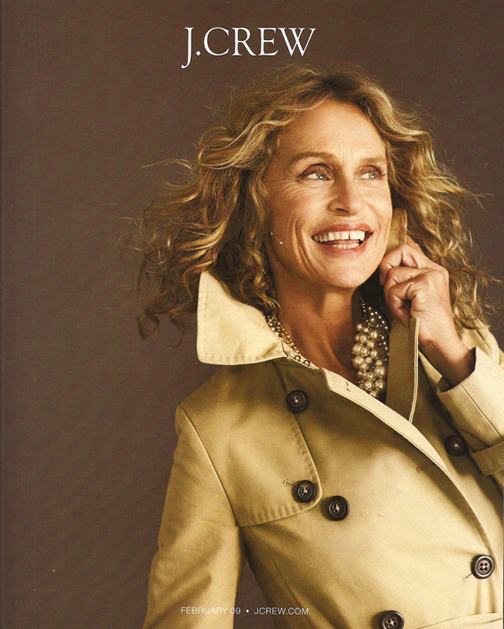 Lauren Hutton February 09 catalog
