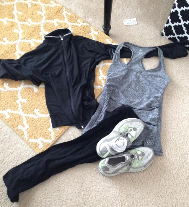 The workout ensemble