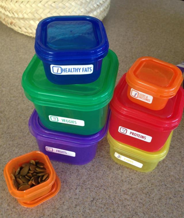 My little containers. And they are just that. Little!