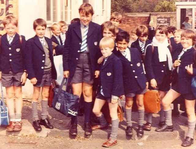 boys in shorts