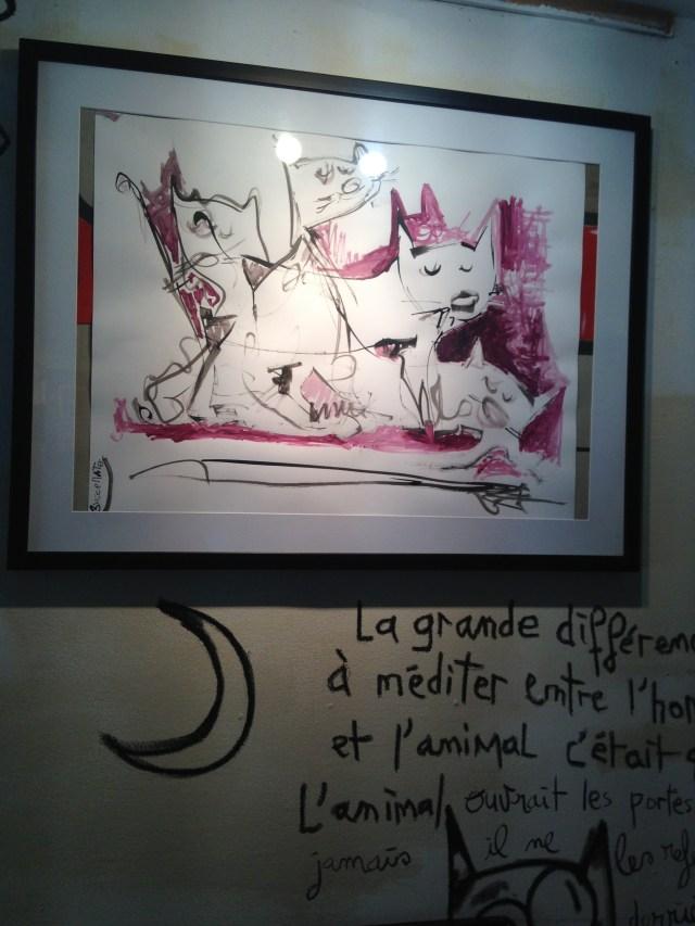 Cabris Atelier Galerie d'art Lulu  Print of lulu