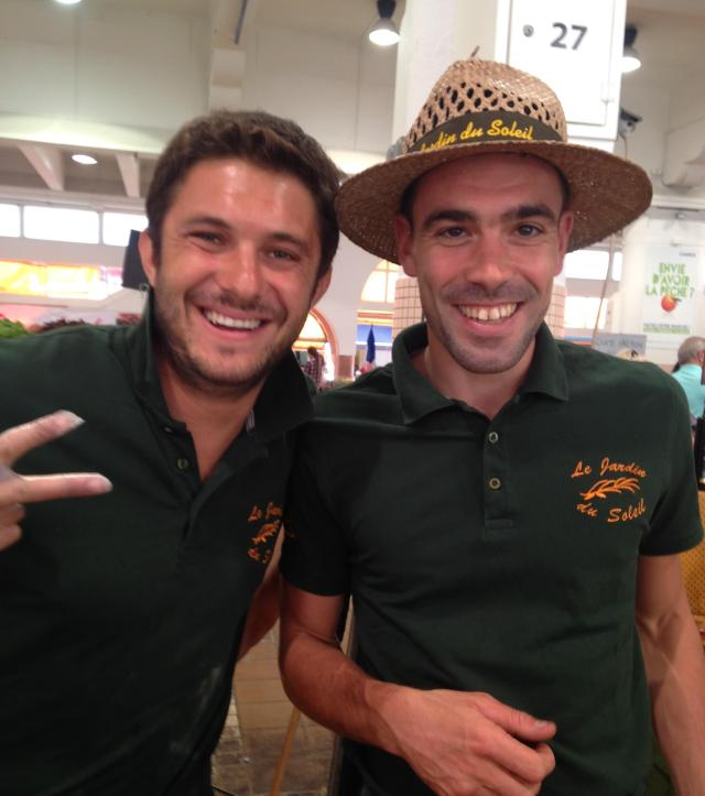 Cannes. Marche Forville. The tapanade and olive guys. They are fun!  GOLD
