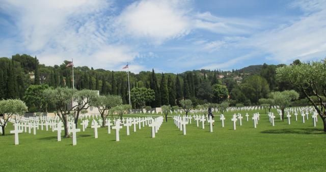 Draguignan. American Cemetery 2