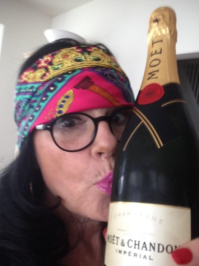 LIke Eddie. I love my champagne