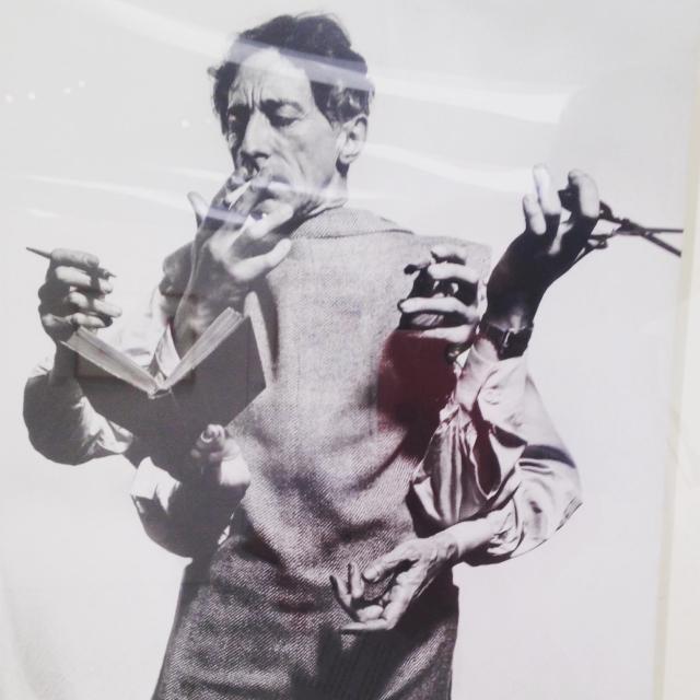Menton. Musee Jean Cocteau. Head shot BLLOG GOLD