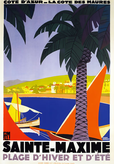 Sainte Maxime poster