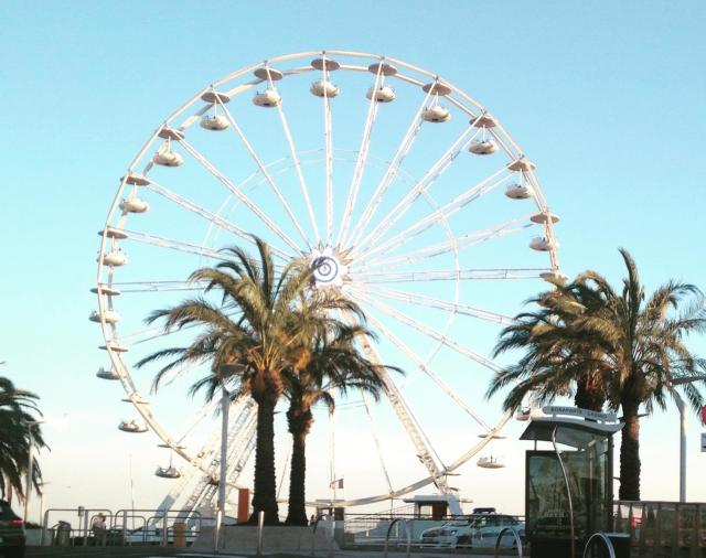 St. Raphael. Ferris beuller wheel.