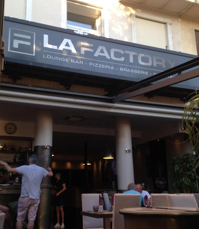 St. Raphael. LA Factory Restaurant exterior.