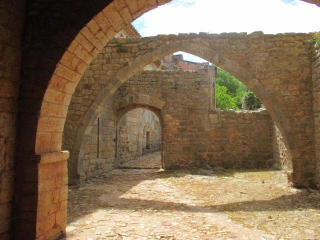 Thoronet. Ruins among the abbaye