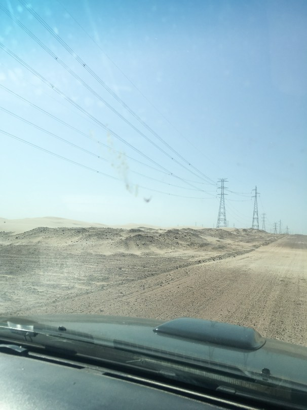 Driving from Jericoacoara to Atins
