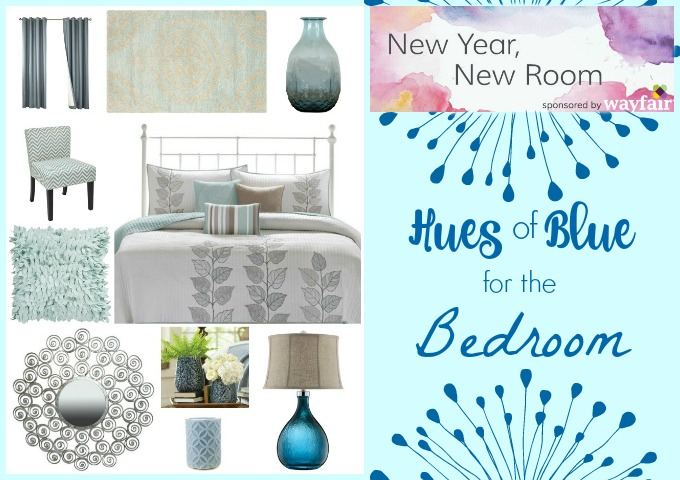 Blue Bedroom Accents Makeover Atypical Familia
