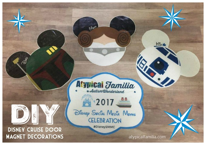 Disney Cruise Door Magnet Decorations DIY