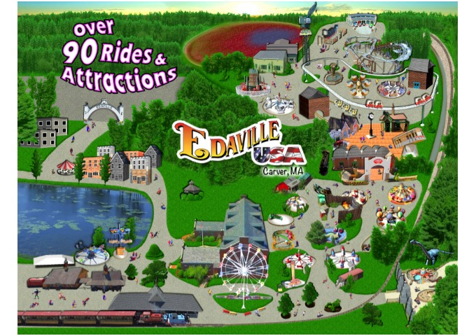 Edaville USA over 90 Rides and Attractions