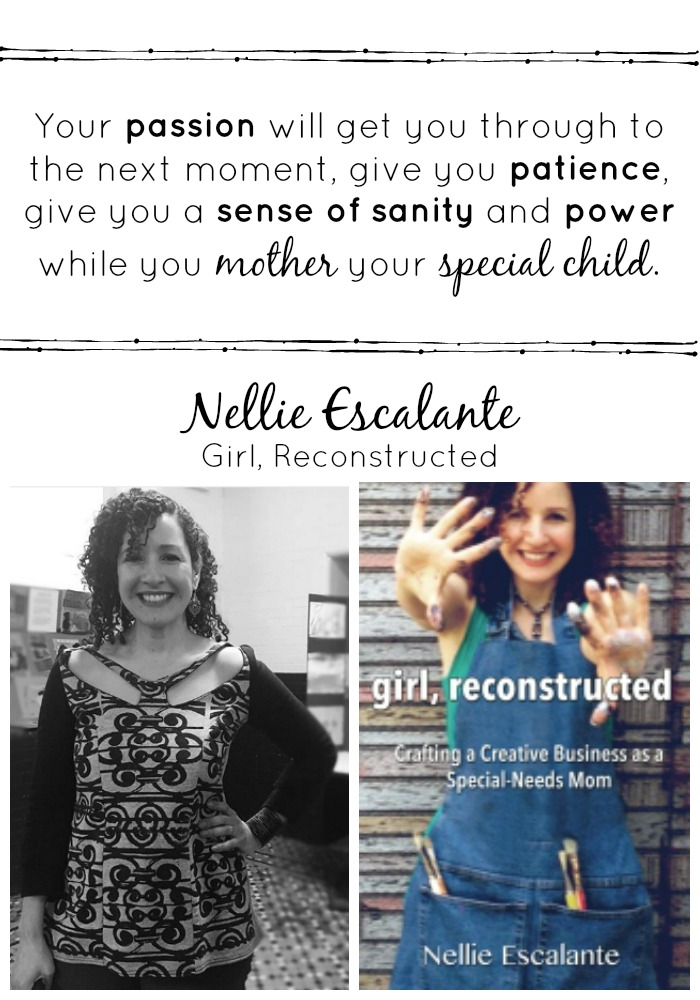 Nellie Escalante Latina Author and Artist on Special Needs Motherhood via Atypical Familia by Lisa Quinones Fontanez
