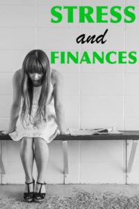 Stress and Finances Pinterest