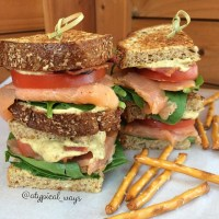 Quick & Simple Smoked Salmon BLT!