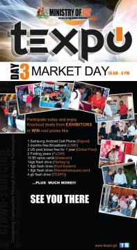 2012 TEXPO activity flyer