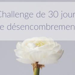 Challenge de 30 jours de…