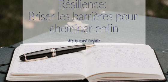 La résilience est un processus difficile. Il faut du temps pour cheminer et arriver à atteindre l'acceptation. Mon cheminement m'a amenée à bloguer et à rencontrer des gens magnifiques. Il m'a aussi poussée à créer des outils pour aider, parce que c'est en parlant qu'on brisera des barrières. #résilience #cheminement #outils #boutique #blogue #développementpersonnel