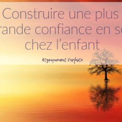 Construire une plus grande confiance…