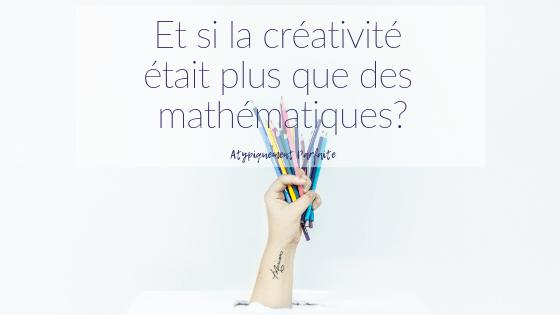 La créativité ne se résume pas qu'à une chose. On peut la retrouver partout. Vous en pensez quoi? Dans ce billet, je vous explique comme mon fils HPI, mon fils trisomique et leur mini frère sont créatifs de façon très différentes l'un de l'autre mais toute aussi inspirante. #douance #HPI #trisomie21 #créativité #inspiration #imaginaire #innovation