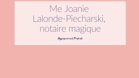 La notaire Me Joanie Lalonde-Piecharski parle de sa profession avec beaucoup de douceur. Elle travaille principalement auprès des familles d'enfants ayant des besoins particuliers (DI et TSA). Et vient de sortir un guide de passage à l'âge de 18 ans. #notaire #besoinsparticuliers #DI #TSA #famille #testament #professionnelle