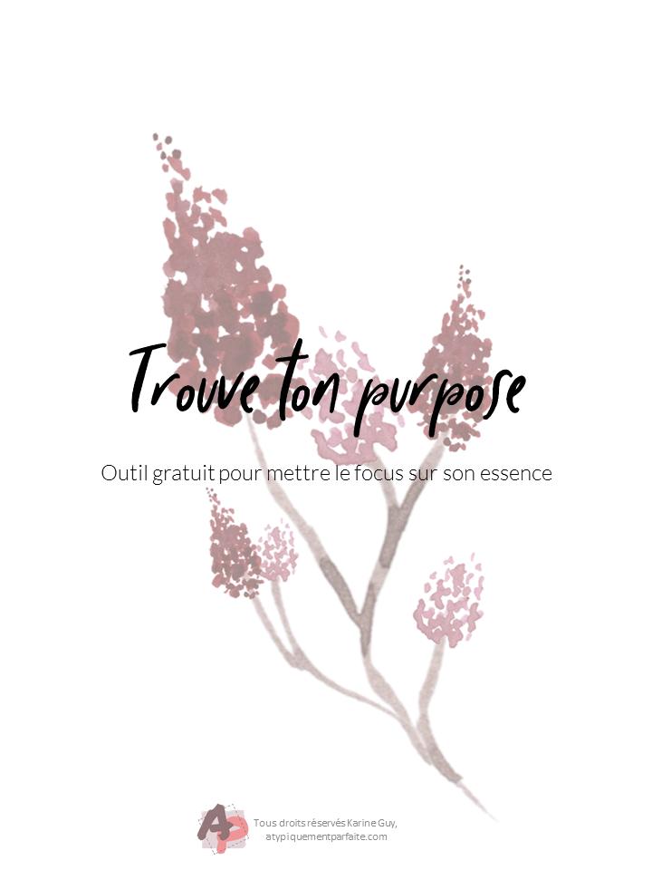 Purpose - Outil pour le trouver