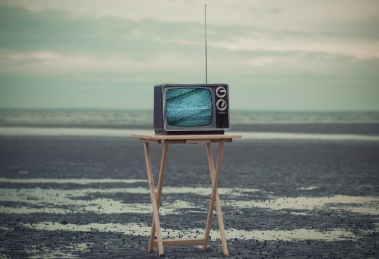 Televisor i paisatge
