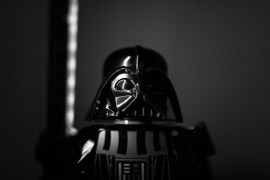 Darth Vader, antagonista de la saga 'Star Wars'