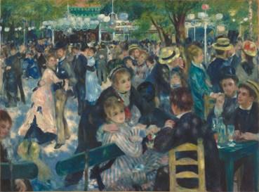 'Bal du Moulin de la Galette' de Pierre-Auguste Renoir. 'Les dones de Renoir'