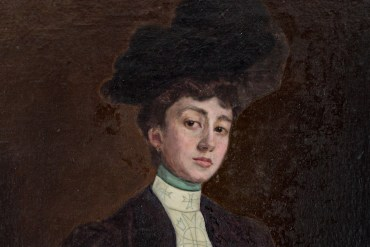 Retrat de Lluïsa Güell pintat per Lluïsa Vidal