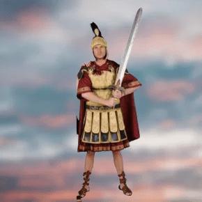 Romain grec