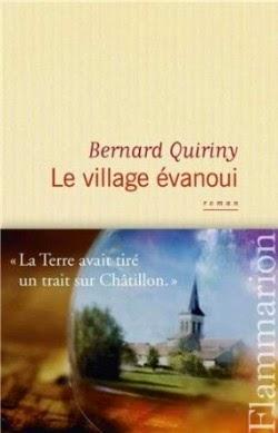Un village évanoui de Bernard QUIRINY