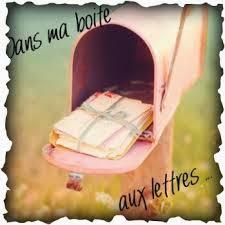 Dans ma boîte aux lettres (8)